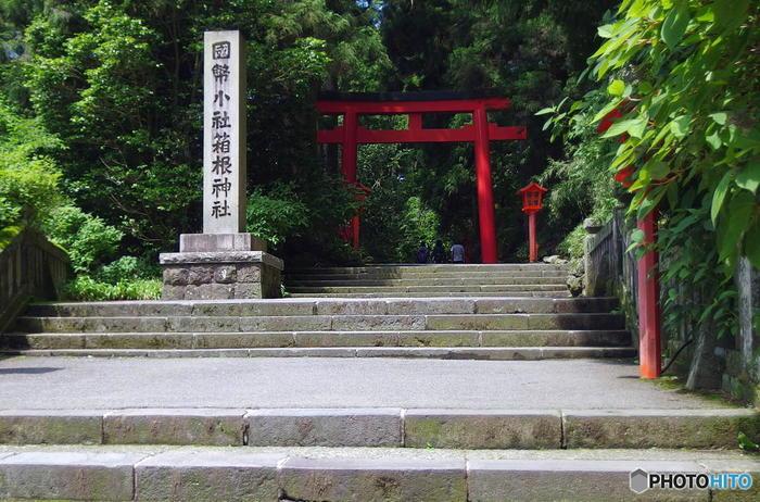 """首都圏からアクセス抜群の""""箱根""""は、全国屈指の観光リゾート地です。  知名度や人気の高さ、アクセスの良さから、首都圏に暮らす人々にとって「箱根」は、あまりにも身近すぎて、そこに豊かな自然、バラエティに富んだ素晴らしい景色が広がっていることを、その地名から感じることが少ないかもしれません。 【箱根神社・第三鳥居】"""