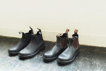 Blundstone(ブランドストーン)のサイドゴアブーツ。牛革のオイルドレザーで、普段履きとしても雨の日もレインシューズとしても履ける万能ブーツです。履くほどに味わいが増し、着こなしの幅を広げてくれます。