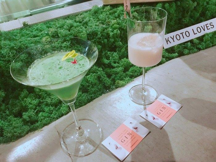 京都駅から徒歩5分ほどのところにある、珍しいジンを使ったカクテルをいただける立ち飲み屋「The Roots of all evil.」。お客様の半数以上が20〜30代以上の女性という、立ち飲み屋ビギナー女子でも入りやすいお店。