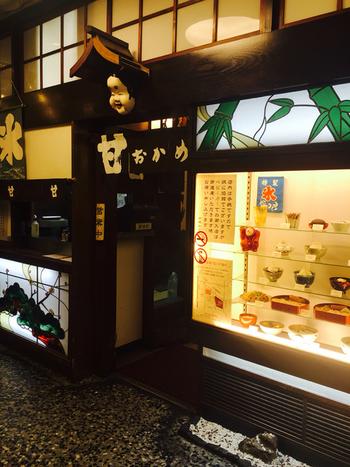 有楽町駅から徒歩約1分の場所にある甘味処「甘味おかめ 有楽町店」では、夏季限定でかき氷が提供されています。昔ながらのレトロな雰囲気も素敵なお店なので、ぜひ立ち寄ってみて♪