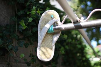 また、ニオイの原因になりがちなスリッパも、い草製品にすれば、履き心地も見た目も涼しげで、ニオイ対策もバッチリ。