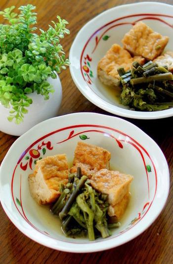 厚揚げはおかずが足りない時や、時間がない時に活用できる便利な食材です。野菜や肉、魚とも相性がよいので料理のバリエーションも広がりますよ。レシピを再現して、上手に取り入れちゃいましょう♪