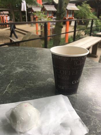 コーヒーとお饅頭、ソフトクリームが美味しいですよ。