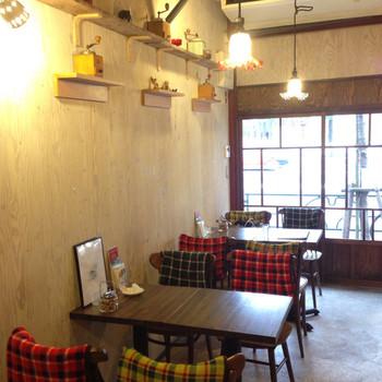 店内はアットホームで可愛らしい雰囲気。下町巡りの途中にふらりと寄りたいカフェです。