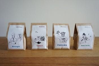 豆の種類がたくさんあって、どれにしようか決まらない…という方は、4種お試しセットがおすすめです。
