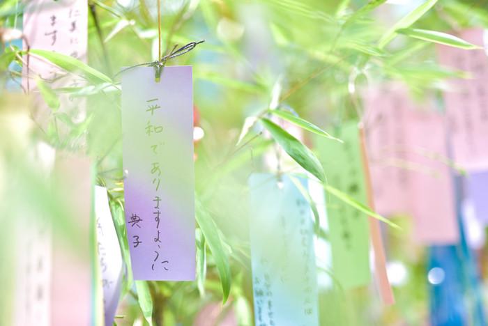 日本では夏の風物詩のひとつとして、各地域で七夕飾りが飾られています。そんな七夕の由来をご存知でしょうか?実は、平安時代に中国から伝わった「乞巧奠(きこうでん)」という織女星の機織りにあやかって祭壇に針を供えて、「裁縫が上手くなるように」と祈りをささげる風習が七夕の由来と言われています。
