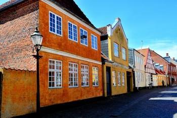 1300年の歴史があり、北欧でも最も古い町のひとつといわれているリーベ。