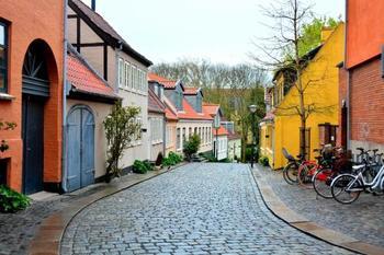 デンマーク第3の都市オーデンセはアンデルセンが生まれ育った街。アンデルセンが幼い頃に住んでいた家や通った学校など市内至るところにアンデルセン所縁の場所があり、童話の世界に浸ることができます。