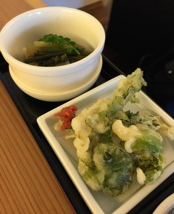 祇園の町並みに合うのは、やはり和食ではないでしょうか。京のおばんざい、天ぷら、豆腐料理など、町家の風情にぴったり合った和食ランチをご紹介します。