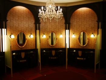 トイレも必見!ゴージャスなドレッサールーム付きです。