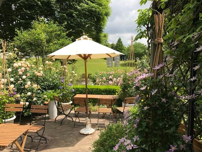 ヴァンジ彫刻庭園美術館の敷地にある「ティーハウス ガーデナーズハウス」をご紹介♪まるで、秘密の花園のよう。 美味しいお茶とともに、クレマチスが咲き誇る美しい風景を楽しめます。