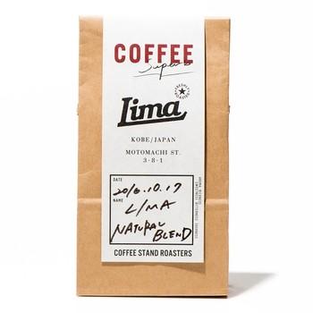 「ヒトの五感を刺激する特別なコーヒー豆として、お客様の暮らしがより楽しくより豊かになるようにと願いを込めています」 という気持ちが伝わってくるLIMA定番のハウスブレンド。 香りとコクの芳醇たることはもちろん、後味にも気を使ったひと品。