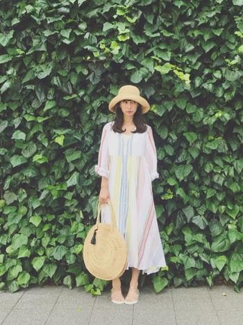 サラッと着れる「マキシ丈」アイテム。こんなにコーディネートの幅も広かったなんて…。今年も大活躍間違いなしですね!