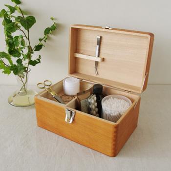 もしものときに備えていますか?かわいい「救急箱(薬箱)」と収納アイデア