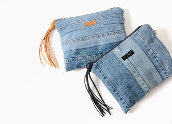 普段着を簡単にクラスアップしてくれる、デニム素材のバッグと帽子。形はもちろん、ステッチや色の落ち具合によっても雰囲気が変わってくるので、いくつかのアイテムを揃えておくのがおすすめです。皆さんもぜひ参考にして、夏の装いをデニム小物でおしゃれに刷新してみてくださいね!