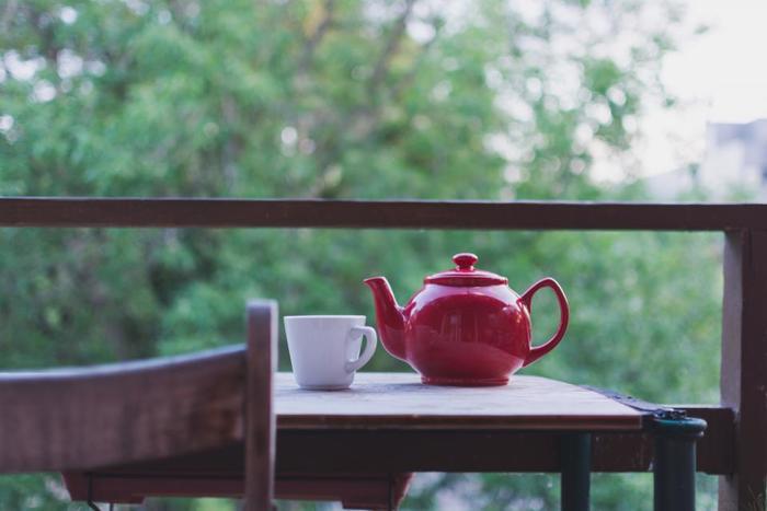 何か食べる前に、まずはお白湯で穏やかに体内温度を上げていきます。じんわりと奥から温まっていく感覚を味わいながら、体をゆっくりと目覚めさせて。