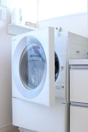 タオルやすこし着ただけのTシャツなどは選り分けて、スピードコースでお洗濯しても大丈夫。スピードコースを利用するときは、すすぎ1回でOKという専用洗剤を使うと安心ですね。