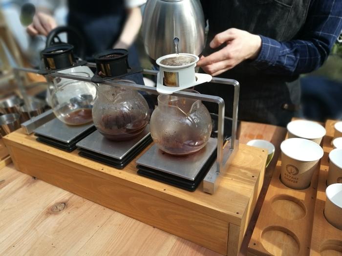 高品質のコーヒー豆・抽出方法・温度など、一杯のコーヒーにこだわりをこめて淹れられたスペシャルティコーヒーを楽しめるのが、若林区荒井にある「KEYAKI COFFEE」。