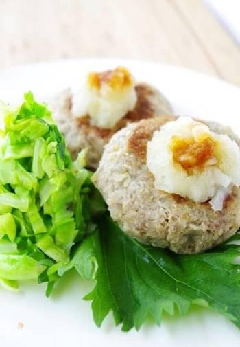 ダイエットしている方はおからを使った和風ハンバーグはどうですか?スーパーフード・キヌア が、ヘルシーな中にも栄養素をバッチリと補ってくれますよ!
