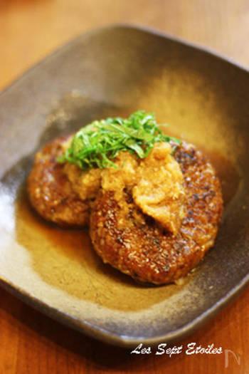 ひき肉がわりにハンバーグにも使えてしまいます。お肉と同じように玉ねぎとあわせて焼くだけ。お肉のような満足感がありながら、たっぷり食べても罪悪感がなさそう。
