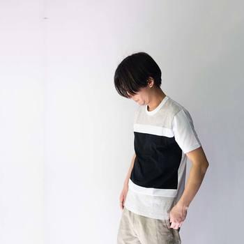お洋服をプレゼントするなら、ぜひ、着心地にこだわって。こちらのTシャツは高級コットンである「スーピマコットン」を使い、滑らかな肌触りが特徴となっています。お洗濯にも強く、ヘビロテにも耐えるTシャツです。