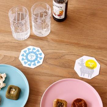 お子さんが集まる機会に使用するとテーブルが明るくなり、楽しい時間を演出してくれそうですね。