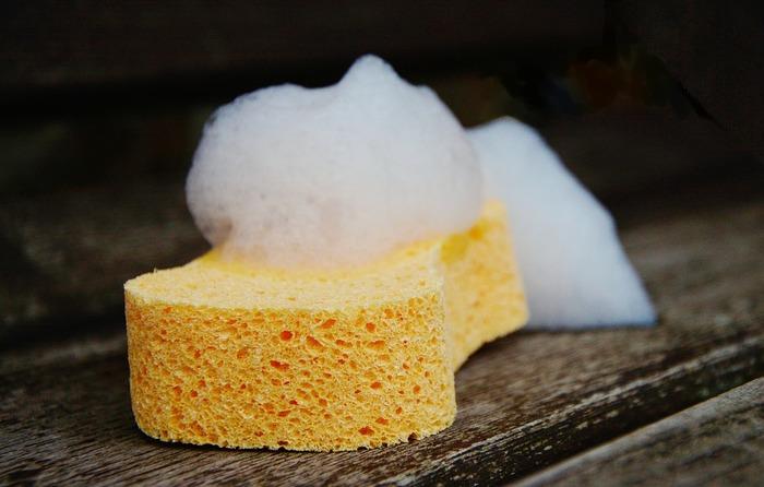 細菌は「栄養・水分・温度」の3つの条件で増殖します。スポンジや布巾には栄養になるものなんてないと思うかもしれませんが、細菌にとってはプラスチックですら栄養になることも……。常に濡れているスポンジやふきんは湿度が高い上、夏場は気温も上昇。絶好の繁殖環境と言えるかもしれません。