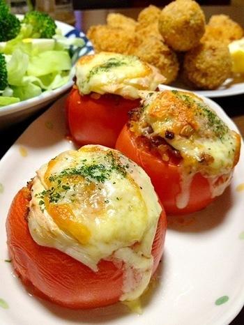 とろとろ感が美味しい。夏野菜《トマト》をたっぷり味わうレシピ