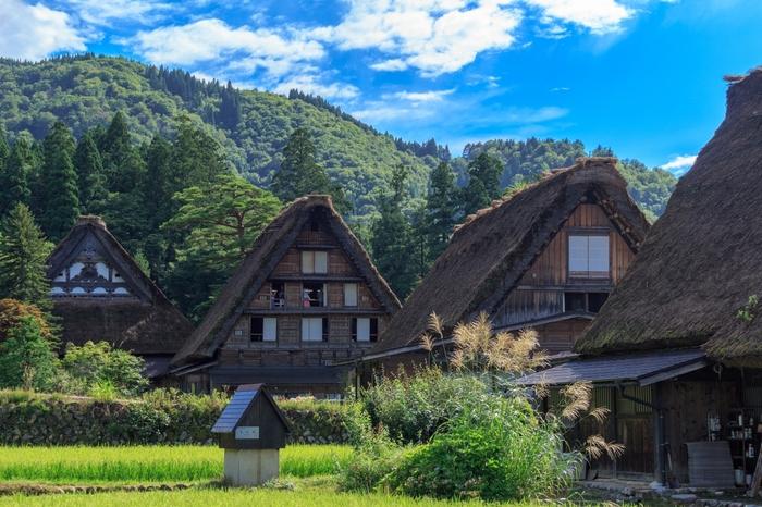 世界遺産、歴史的建造物、古い町並み、豊かな自然、子供も楽しめる施設など見どころが多い岐阜県は、季節、国内外問わず観光客が大勢訪ずれています。