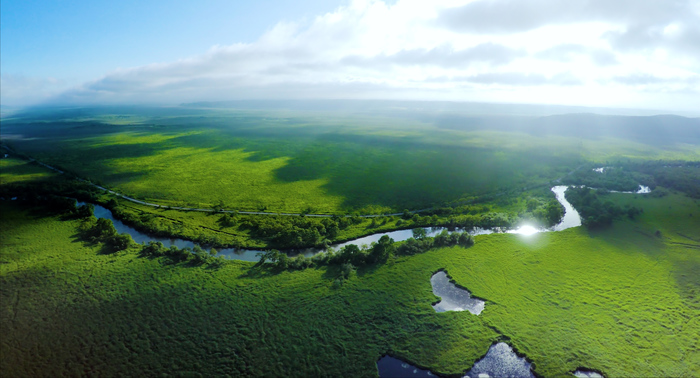 写真:北海道・釧路湿原 ©2018 PEACE NIPPON PROJECT LLC