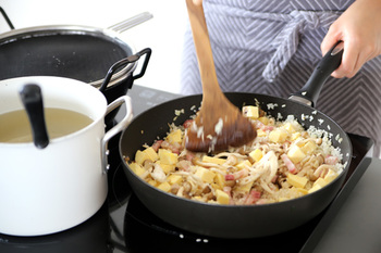 大好きな道具たちに囲まれると、ウキウキした気分で台所に立てるから、料理へのモチベーションもアップします。
