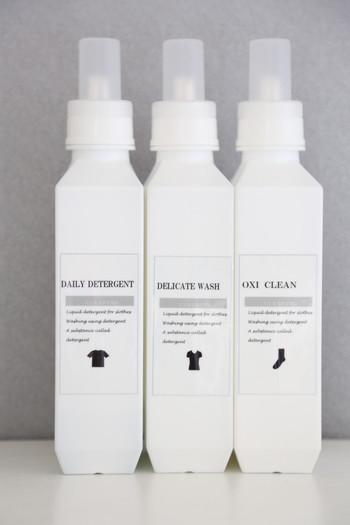 サイズやデザインが豊富なb2cのランドリーコレクション。インテリアに馴染みやすいホワイトを基調にスタイリッシュなデザインが人気です。 腐食しにくい素材で洗剤の種類を選ばないところも◎
