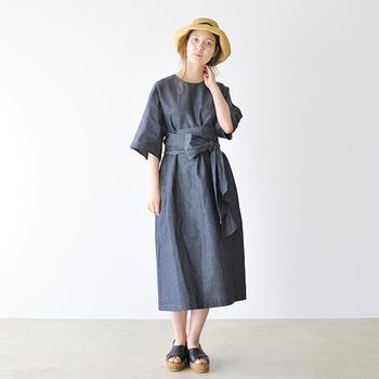 一枚で着映えするデザイン性の高いワンピースも、2019年夏のトレンドアイテムの一つ。2~3枚お気に入りのワンピースを持っておけば、それを着るだけでおしゃれコーデの完成です。