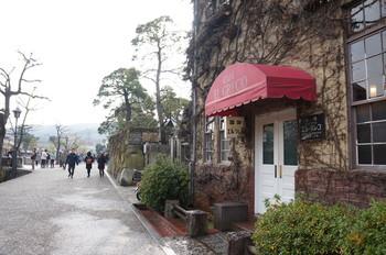 倉敷美観地区を代表するコーヒーの名店「エル・グレコ」。大原美術館創始者が使っていた建物を改装して喫茶店にされています。