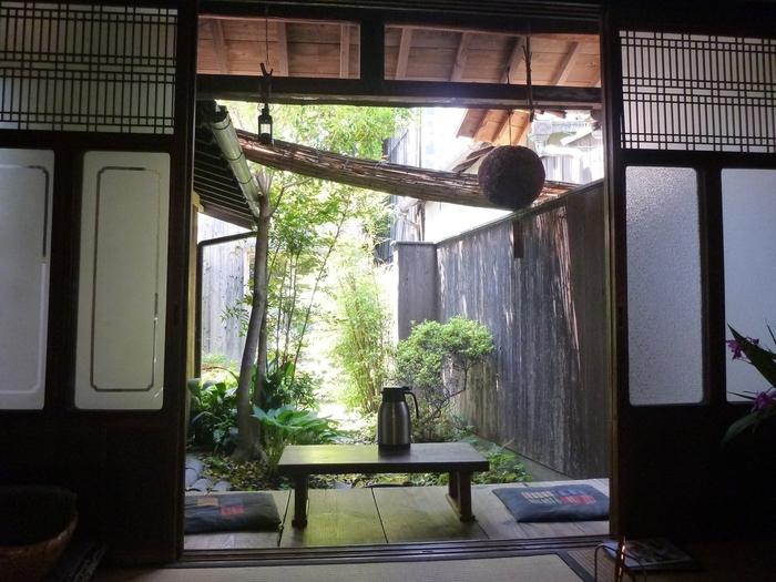 座敷席もあり、和の雰囲気を満喫できます。中庭の見える席で倉敷の風を感じながらランチなんて素敵ですね♪
