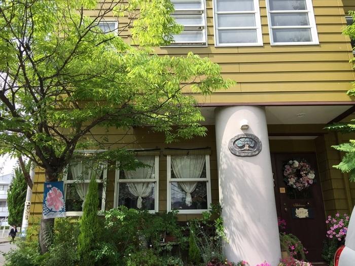 宮沢賢治による造語「イーハトーヴ(理想郷の意)」を店名としたユニークなお店。飲食店が少ない児島でランチをする際のオアシス的存在です。