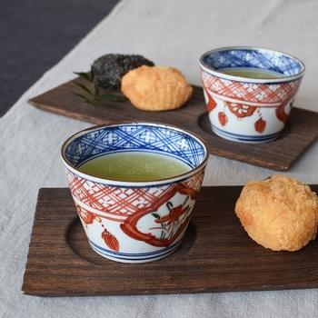 ちょっとしたお茶のカップとして使ってみるのもお洒落です。コーヒーカップやマグカップ、湯飲みとはまた違った風情を感じさせてくれます。