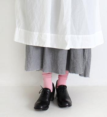 まだまだ暑さの残っていても、ファッションで季節を先取りしたい!そんな時は、コーディネートにシックな「レザーシューズ」を添えて、秋の装いをはじめてみませんか?