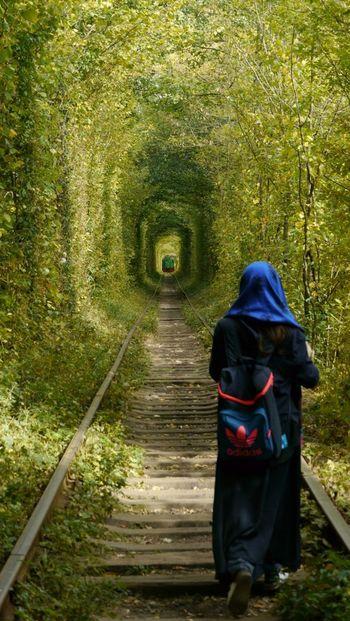 ウクライナのクレヴァニ村にある「恋のトンネル(The Tunnel of Love)」は、世界中からたくさんのカップルが訪れる恋のジンクスにあふれた場所です。