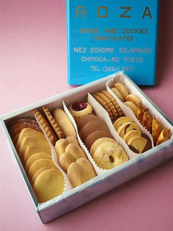 ローザーといえば、なんといってもクッキー缶。予約だけで完売してしまうこともあるのだそう。その魅力は、丁寧に手作りされたことがわかる素朴な味わい。