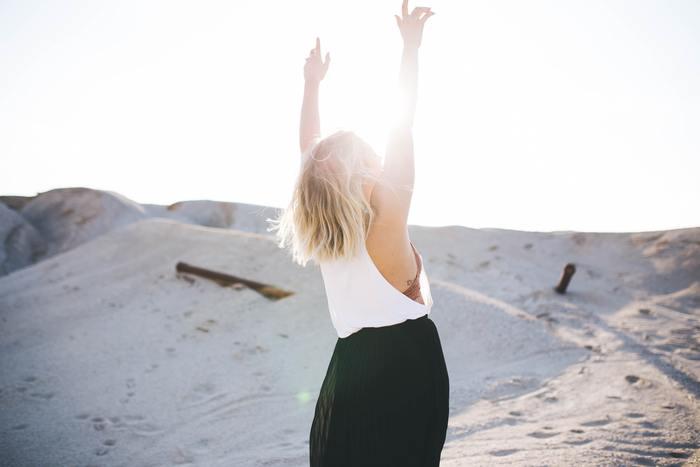 嬉しい時まで客観視する必要はありません。嬉しい時には感じたままに嬉しいと喜びましょう。自分を客観視したいのは、何か困ったことが起きた時、です。