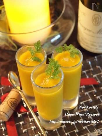 赤ワインに合うような大人のかぼちゃスープなら、カルダモンやナツメグなどのスパイスでアレンジ!