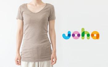 「joha(ヨハ)」は、1963年にデンマークで創業した赤ちゃんと子ども向けの肌着ブランド。体温調節がうまく出来ない子どもたちを寒さから守るために、子ども向けのウール製肌着を開発したことがブランドの始まりです。