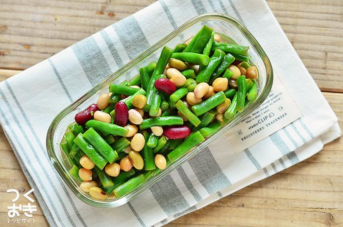 栄養価の高い旬のお野菜をたっぷり食べることは、健やかな体を作ることにつながります。お弁当や作り置きにも向いているいんげんは、活用度の高いお野菜のひとつです。気になるレシピはぜひチェックしてみてくださいね!