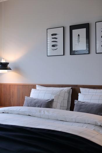 寝具を清潔に美しく保つのも、良い眠りを得るためにはとても重要です。清潔なシーツやまくらカバーなどをきっちりとセットすることで心地よい眠りが訪れます。