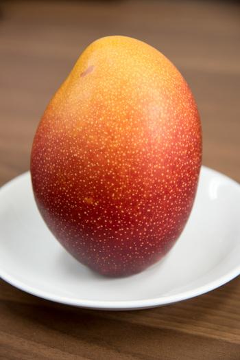 フレッサ福岡の選手が農家さんのもとで2年間研修を受け、手塩にかけて育てたアップルマンゴーです。L~2Lサイズ2玉を化粧箱に入れて発送していますので、ご自宅用はもちろんのこと、大切な方への贈り物にもぜひおすすめですよ。