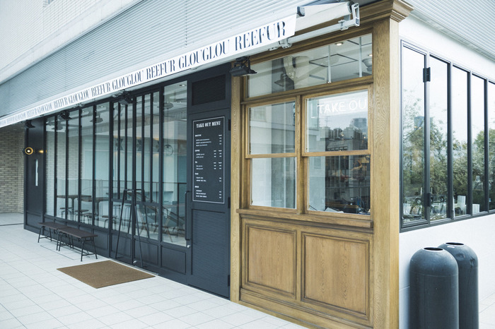 代官山駅から徒歩約3分に位置するモデル・梨花さんがディレクションするおしゃれなカフェ「グルグルリーファー」。身体に良いランチが食べたい方におすすめのカフェです。