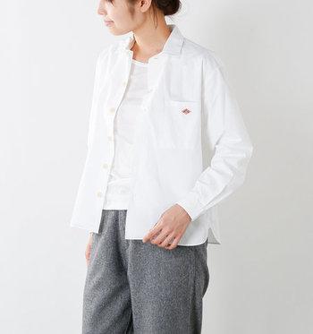 白Tシャツは、まだまだこれからの季節にも活躍してくれること間違いなしです。 白Tシャツを使った秋コーデを楽しんで、着回しの幅をどんどん広げてみてくださいね♪