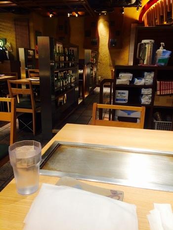 阪急うめだ本店12Fにある新感覚のお好み焼きと鉄板焼きのお店「京ちゃばな」。お好み焼きに新たな感動を与えてくれるお店です。