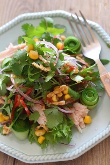 作り置きにも活躍。ヘルシー食材「サラダチキン」の基本&アレンジレシピ